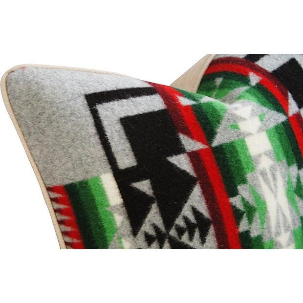 Custom Chief Joseph Pendleton Blanket Pillow - Image 5 of 7