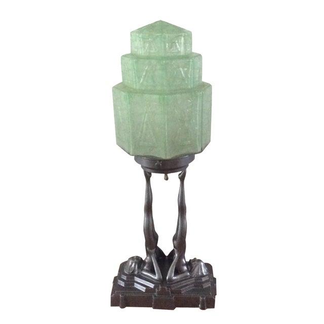 Original Frankart Art Deco Lamp - Image 1 of 6