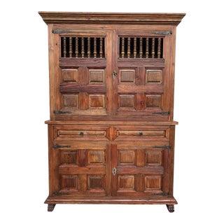 20th Century Cupboard or Cabinet, Castillian Influence, Spain, Restored For Sale