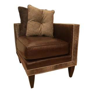 Century Furniture Cosmos Brown Corner Chair