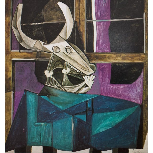 Picasso Nature Morte Au Crâne De Bœuf Photogravure, 1971 | Chairish