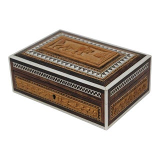 Anglo-Indian Hand Carved Box For Sale