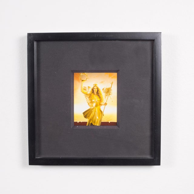 Modern Polaroid Test Image #32 by Denise Tarantino for Dah Len Studios C.1990 For Sale - Image 3 of 3