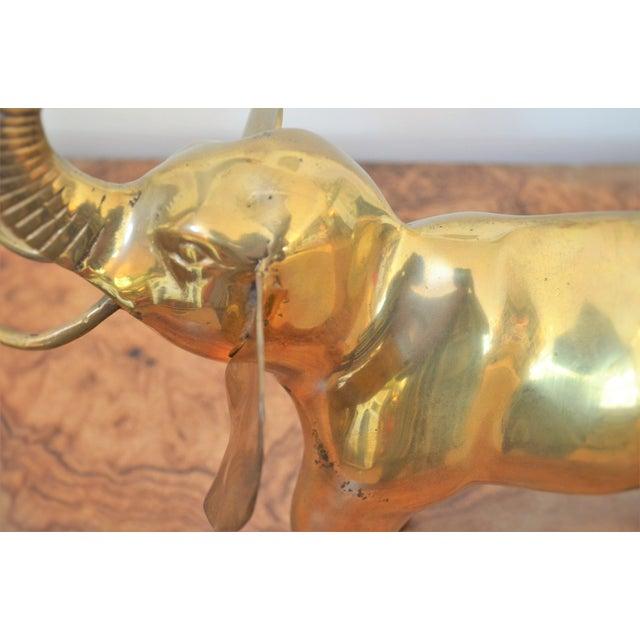 Vintage Brass Elephant Figurine - Image 6 of 6
