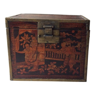 19th Century Chinese Tea Caddy For Sale