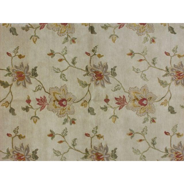 Asian Leon Banilivi Nepalese Carpet - 5′6″ × 8′5″ For Sale - Image 3 of 5