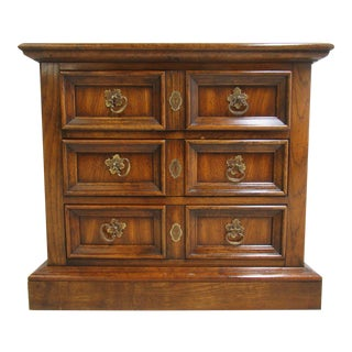 Dixie Camelot End Table Night Stand For Sale