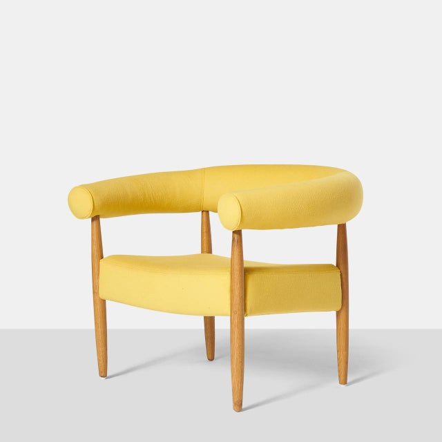 """Mid-Century Modern Pair of """"Ring"""" Chairs by Nanna Ditzel For Sale - Image 3 of 10"""