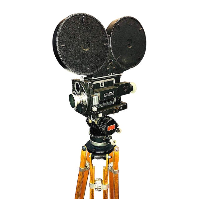 35mm Circa 1949 Mitchell Motion Picture Cinema Camera for Display For Sale