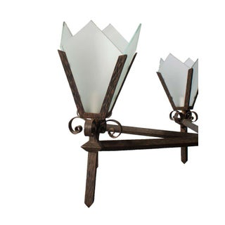 Art Deco Style Chandelier Preview
