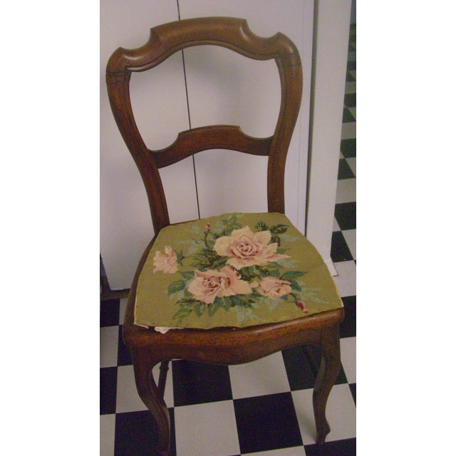 19th-C. English Balloon-Back Side Chair - Image 4 of 5