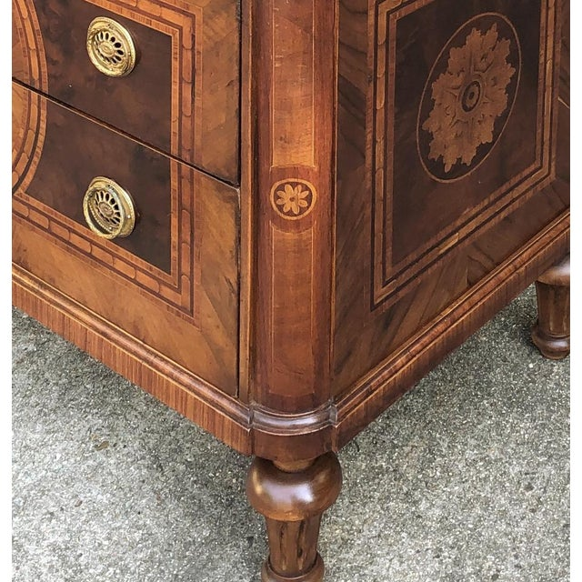 Antique Italian Marquetry Commode For Sale - Image 4 of 13