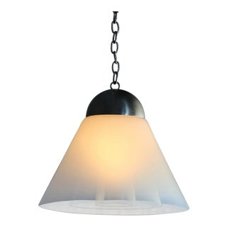 Mid Century Modern Carlo Nason for Mazzega Glass Pendant Lighting For Sale