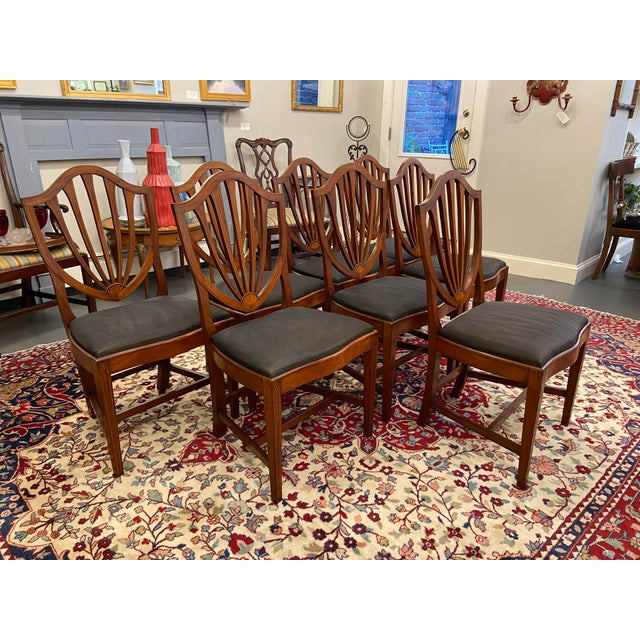 Early 20th Century Irving & Casson Dining Chairs - Set of 8 For Sale - Image 13 of 13
