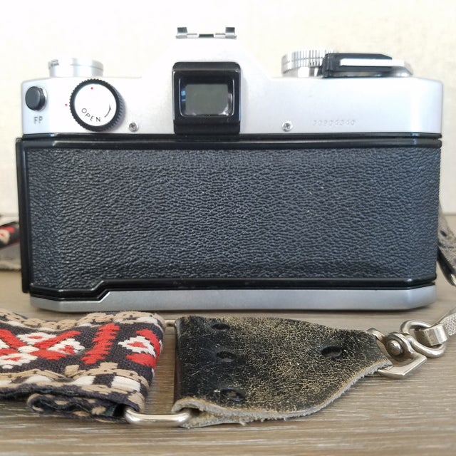 Vintage Yashica Camera with Strap For Sale In Dallas - Image 6 of 9