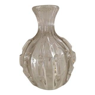 1930s Art Deco Crystal Carafe For Sale