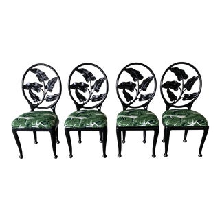 Mid Century Bistro Chairs - Set of 4 For Sale