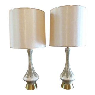 1960s Mid-Century Modern Table Lamps - a Pair For Sale