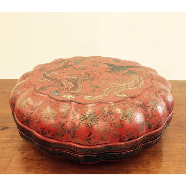 Antique Asian Sewing Box For Sale - Image 11 of 11