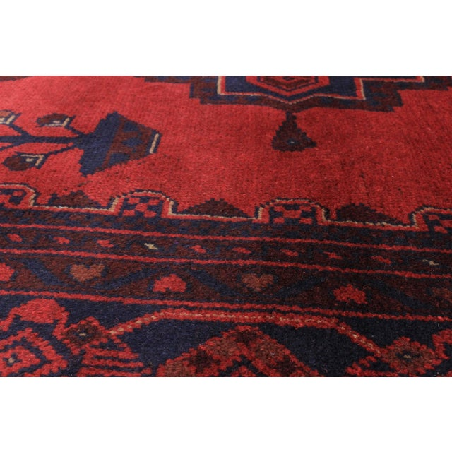 "Finest Khal Mohammadi Afghan Rug - 5'1"" X 6'9"" - Image 2 of 2"