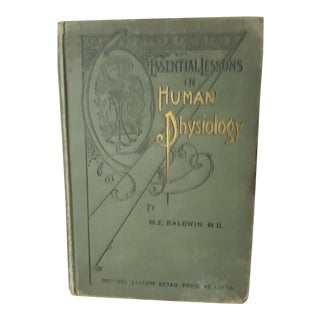 Essential Lessons in Human Physiology Book For Sale