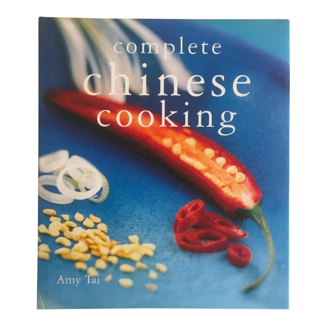""""""" Complete Chinese Cooking """" Amy Tai Modern Chinese Hardcover Cookbook For Sale"""