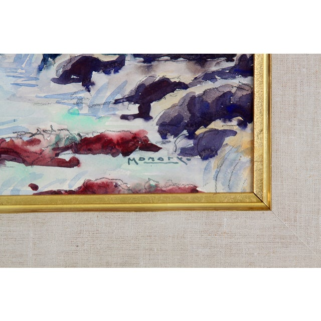 Monory The Coast of France Painting - Image 4 of 5