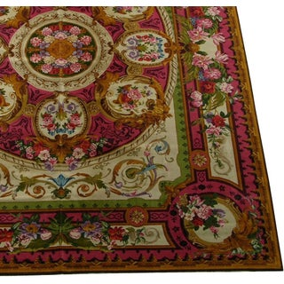 """1920's Antique English Chenille Rug-12'x15"""" Preview"""