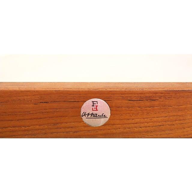 Danish Teak Lounge Chair Arne Vodder France & Son For Sale - Image 10 of 11