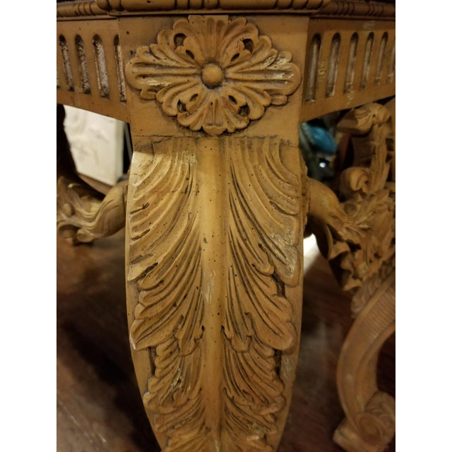 Maitland - Smith Maitland-Smith Vintage Console Table For Sale - Image 4 of 11