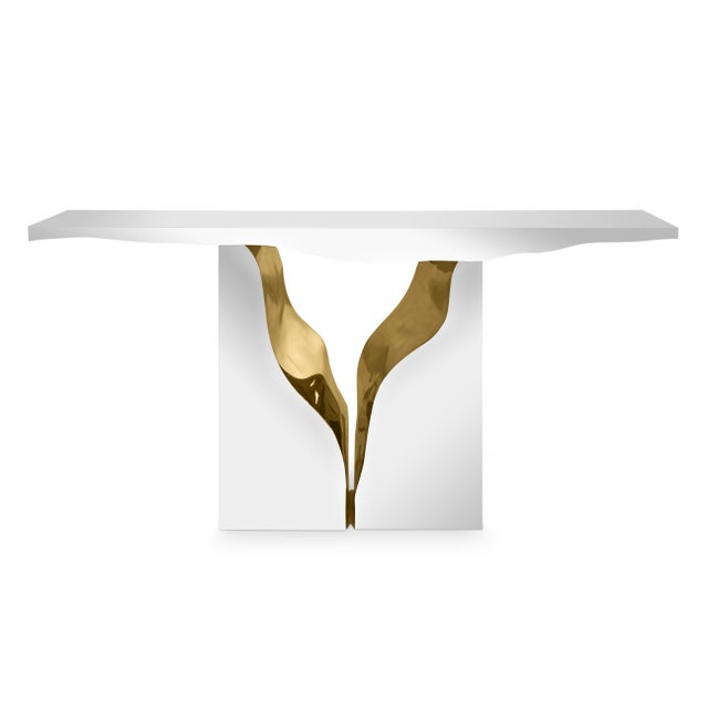 Not Yet Made - Made To Order Lapiaz Console For Sale - Image 5 of 5