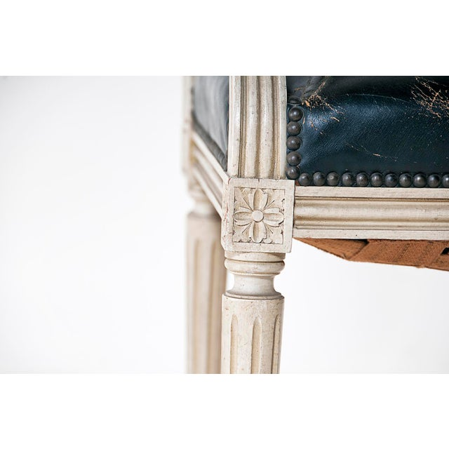 Louis XVI Style Painted Armchairs - A Pair - Image 2 of 9