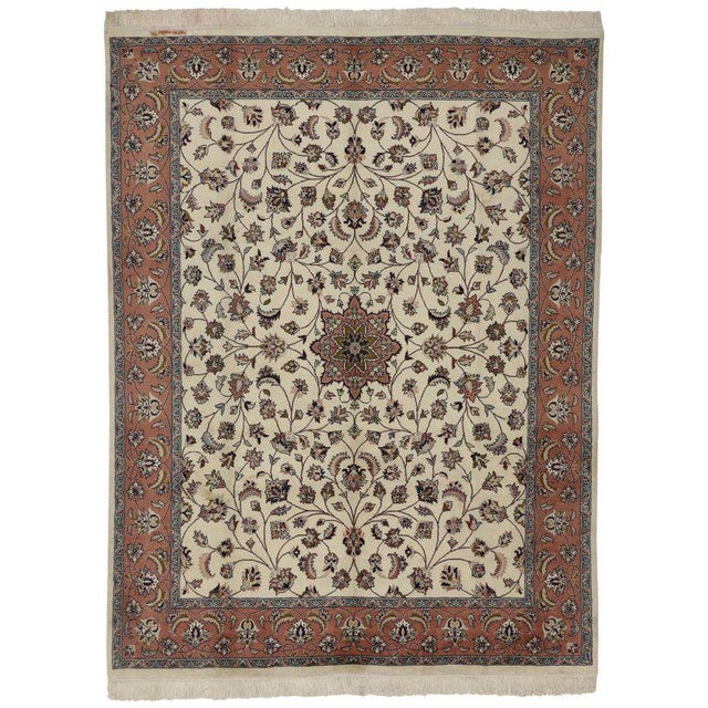 Contemporary Persian Style Rug With Traditional Style - 7′10″ × 10′3″ For Sale In Dallas - Image 6 of 6