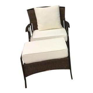 Panama Jack Rum Cay Chair & Ottoman