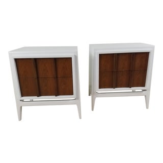 1960s Modern Nightstands - a Pair For Sale