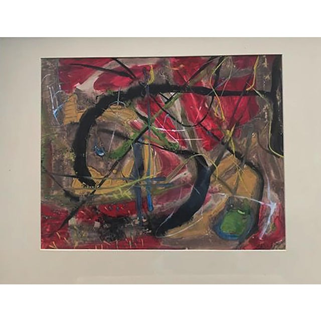 Rolph Scarlett Canadian/American 1889 - 1984 Abstract Composition Mixed media 17 3/4 x 22 1/4 in. Signed on the lower...