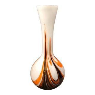1970s Carlo Moretti Space Age Opaline Vase For Sale