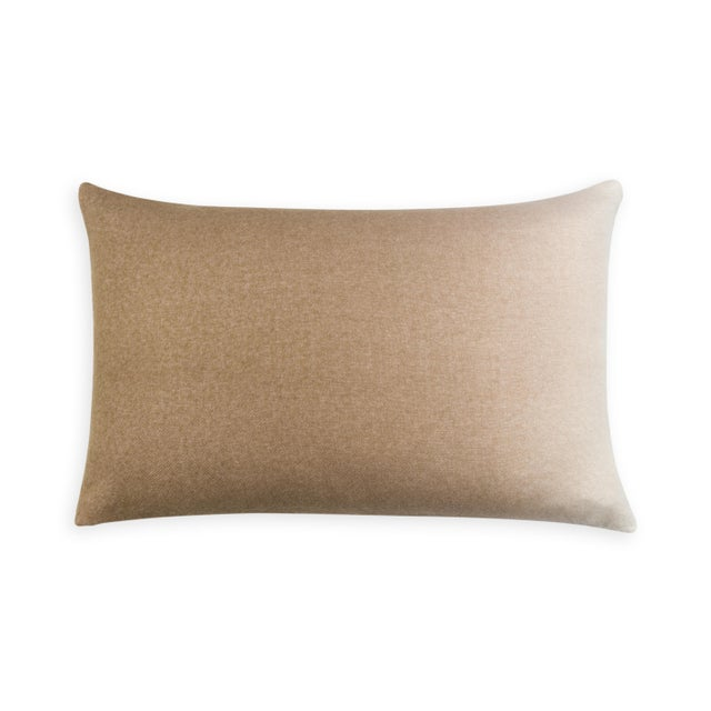 Mid-Century Modern Dip Dyed Pillow Rectangle For Sale - Image 3 of 3