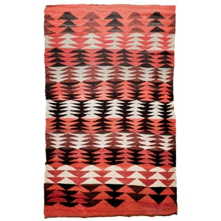 1920s Vintage Navajo Style Rug - 6′9″ × 4′5″ For Sale