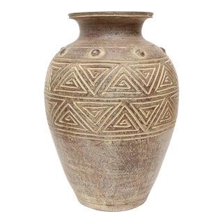 Large Terracotta Jar Vase