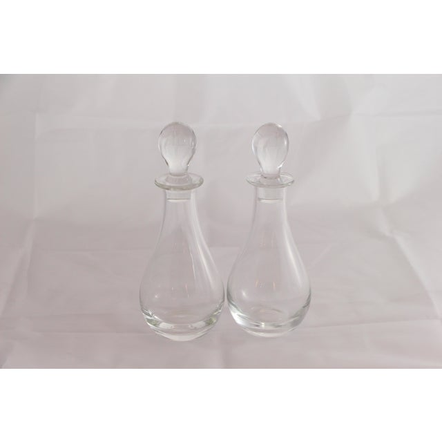Lovely cruet pair by Marquis, Waterford. Priced as a pair, with two sets available. Ideal for Oil & Vinegar