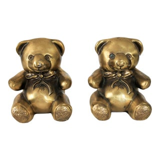 Teddy Bear Bookends For Sale