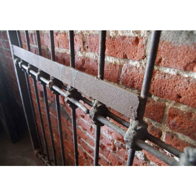 1800s Forged Iron Dual Driveway Gates - a Pair For Sale - Image 4 of 10