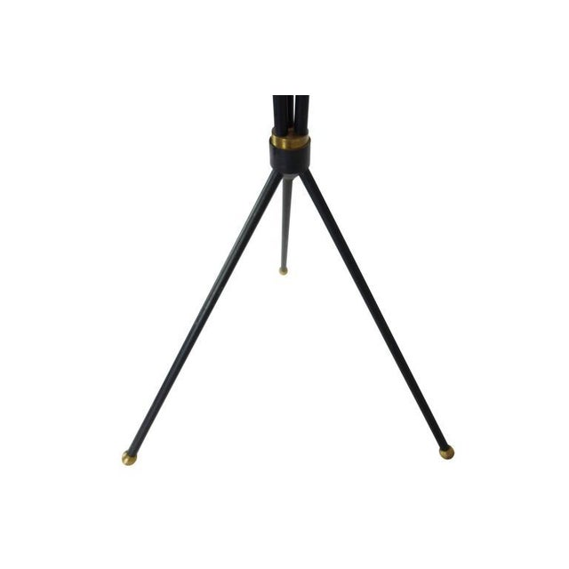 Mid-Century Articulating Tripod Floor Lamp From Denmark For Sale - Image 10 of 10
