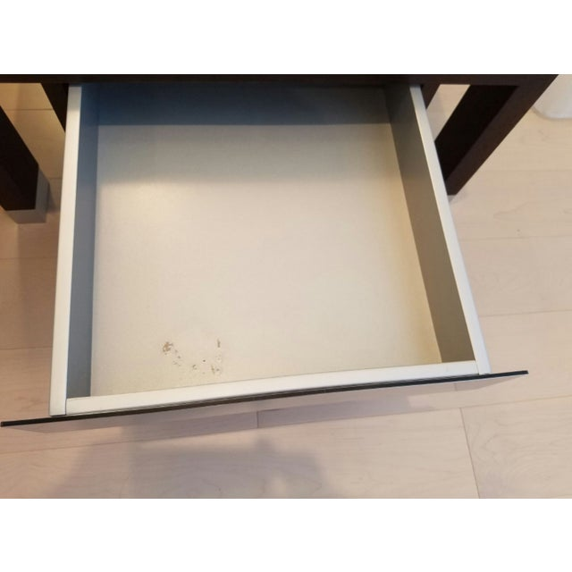 Brown Ligne Roset Lumeo Nightstands - A Pair For Sale - Image 8 of 8