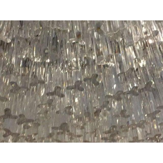 Venini Venini Mid-Century Italian Murano Glass Chandelier For Sale - Image 4 of 10