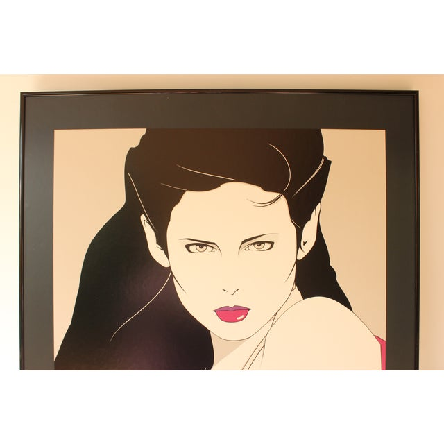 Modern Patrick Nagel Lithograph Print For Sale - Image 3 of 6