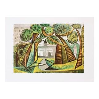 """1971 Picasso, """"Le Vert-Galant"""" Period Parisian Photogravure For Sale"""