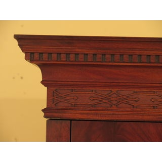 Chippendale Henkel Harris Flame Mahogany Bedroom Armoire Preview
