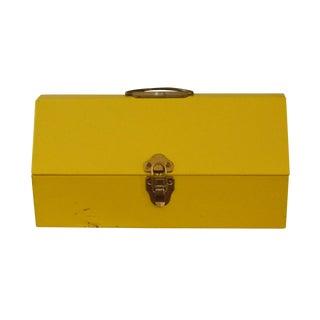 Yellow Metal Toolbox